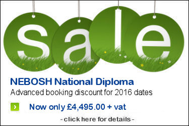 The NEBOSH National Diploma Qualifiaction in 2015