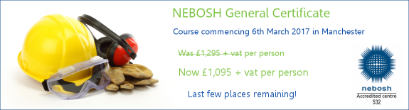 NEBOSH General Certificate Course Special Offer Price